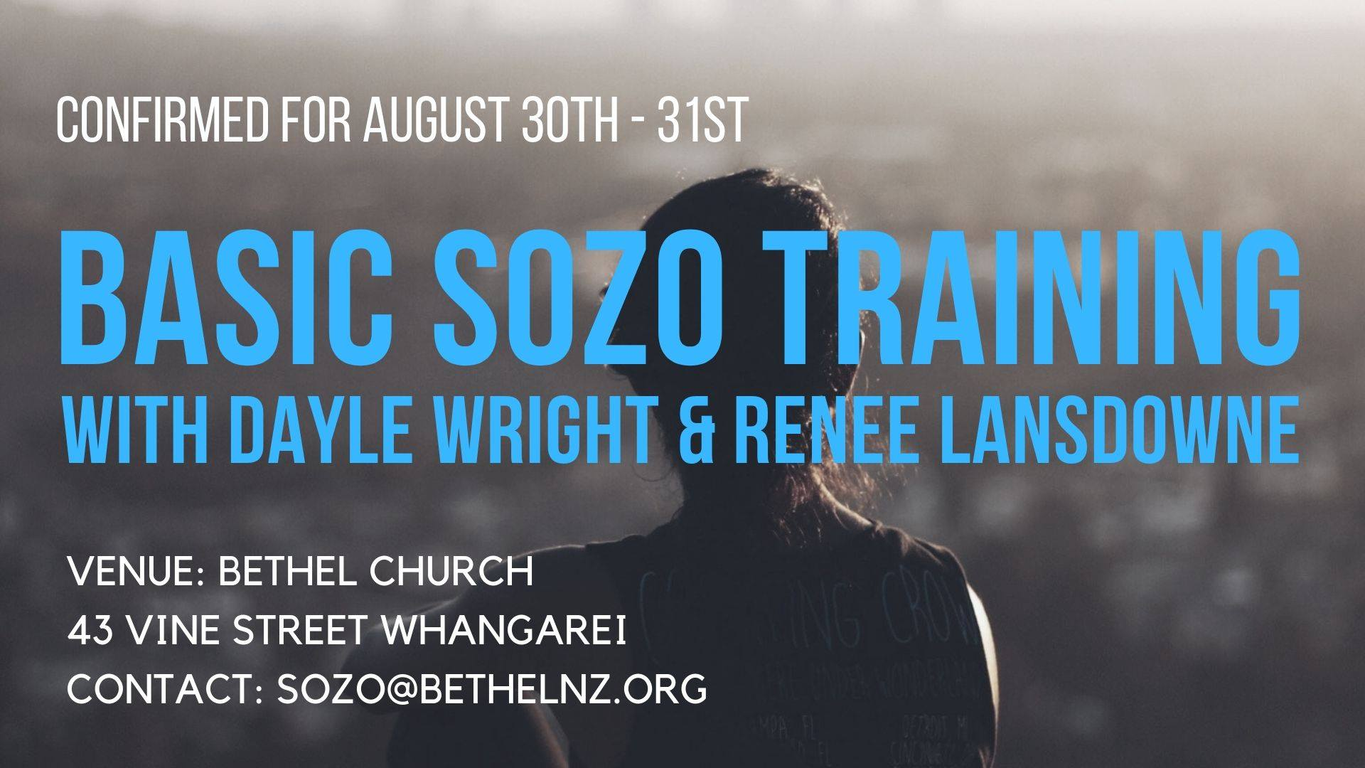 Basic Sozo Training